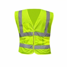 Forester Class 2 Mesh Vest Zippered Front