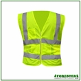 Forester Class 2 Mesh Vest Zippered Front - Vest13