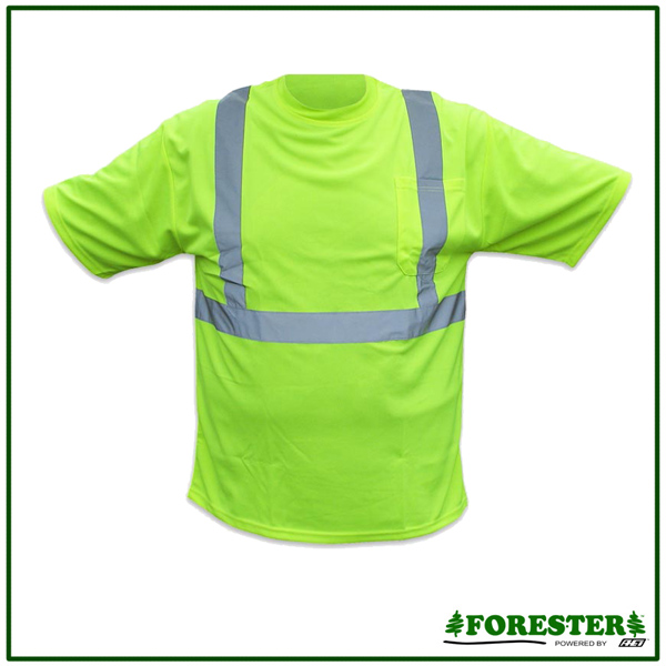 Forester Hi Vis Class Ii Reflective Safety Shirt Safety