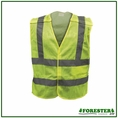 Forester Class 2 Tear-away Safety Vest Mesh Body - Safety Green - Vest3