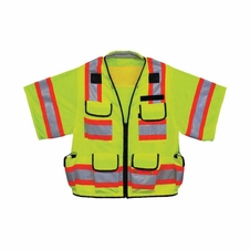 Forester Class 3 Heavy Duty Sleeved Surveyor Vest