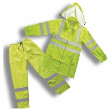 Forester Class 3 Hi-Vis Rain Suit - Jacket & Pants