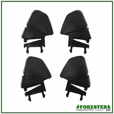 Forester Climbing Helmet Suspension Top Clip - 4 Pack