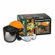 Forester Complete Woodsman Helmet System - Orange
