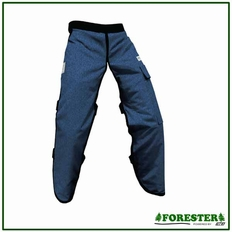 """Forester Denim Jean 37"""" Apron Style Chainsaw Chaps"""