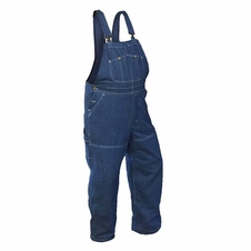 Forester Denim Jean Chainsaw Protective Chap Bibs