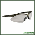 Forester Desert/Green/Forest Camo Safety Glasses w/ Lanyard - Dozen