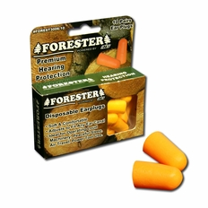 Forester Disposable Earplugs - 10 Pair Boxed