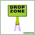 "Forester Drop Zone Cone Top Attachment - 16"" x 9"""