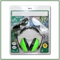 Forester Ear And Eye Protection Kit Bonus Combo - Green Muffs