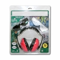 Forester Ear And Eye Protection Kit Bonus Combo - Red Muffs