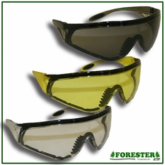 Forester Full Coverage Safety Eyewear - Clear, Yellow & Tinted Lens