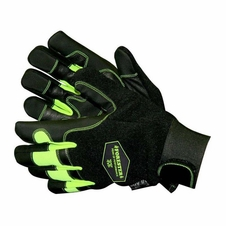 Forester Green/Black Kevlar Lined Chainsaw Gloves