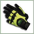 Forester Green Kevlar Lined Anti-Vibration Chainsaw Gloves