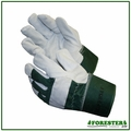 Forester Green Natural Split Cowhide Leather Work Gloves #Fogl1019