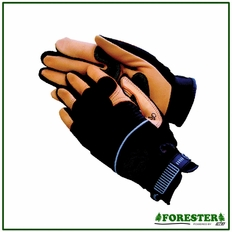 Forester Heavy-Duty Leather Palm Mechanic Style Work Gloves #1970