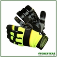 Forester Hi-Vis Green Kevlar Lined Arborist / Rope Gloves
