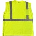 Forester Hi-Vis Class 2 Reflective Safety Sleeveless Shirt - Safety Green