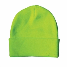 Forester Hi-Vis Green Knit Hat #00794