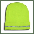 Forester Hi-Vis Green Stocking Cap With Reflective Stripe - #00794r