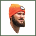 Forester Hi-Vis Orange Beanie Head Lamp