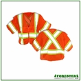 Forester Hi-Vis Orange Class 3 Cross Back Safety Vest - Vest47