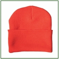Forester Hi-Vis Orange Knit Hat #00792