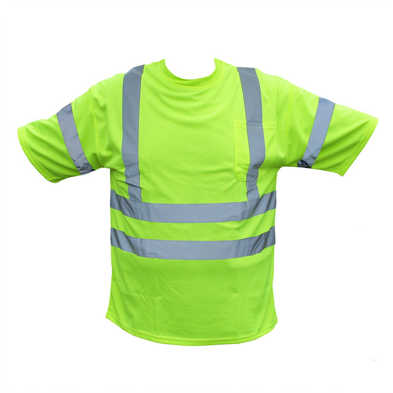 Forester hi vis class 3 t shirt safety green for Hi vis t shirt printing
