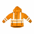 Forester Hi-Vis Soft Shell Water Repellent Jacket - Orange