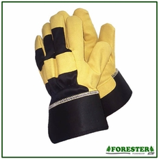 Forester Leather Open Cuff Work Glove
