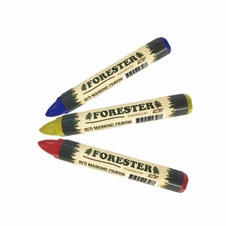 Forester Lumber Marking Crayons - 12 Pack (Multiple Colors)