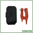Forester Mini Stump Vise for Chainsaw Chain Sharpening w/ Carry Case - SV160P