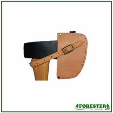 Forester One Piece Single Bit Leather Axe Guard