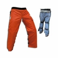 Forester Orange Apron Style Chainsaw Chaps