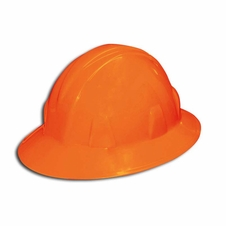 Forester Orange Full Brim Safety Helmet - #8100