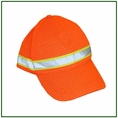 Forester Orange Hi-Vis Mesh Hat - #8560-O