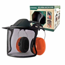 Forester Premium Face & 24dB Hearing Protection - Orange