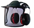 Forester Premium Face & 24dB Hearing Protection - Black