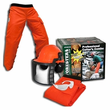 Forester Professional Cutter's Combo -Chaps/Helmet/Glasses