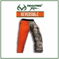 "Forester RealTree&reg Camo/Orange Reversible Regular 37"" Apron Style Chainsaw Chaps"