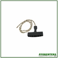 "Forester Replacement Chainsaw Starter Handle With 31-1/2"" Rope #Fo-0056"