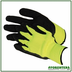Forester Safety Green Grip Gloves