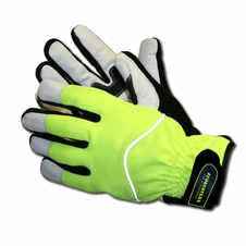 Forester Safety Green Heavy Duty Insulated Winter Work Gloves - #Fogl0422