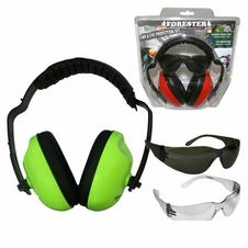 Forester Safety Green Muff & Glasses Combos - #Fo513t-Sg, #Fo513c-Sg