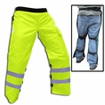 "Forester Safety Green Short 35"" Apron Style Chainsaw Chaps"