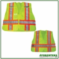 Forester Safety Green Tear-away Pulbic Safety Vest - Vest44