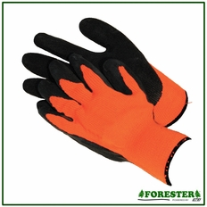 Forester Safety Orange Grip Gloves
