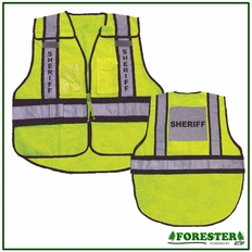 Forester Sheriff Safety Vest - #Vest24