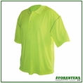 Forester Short Sleeve Safety Green Polo Shirt