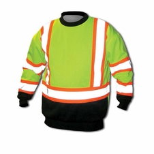 Forester Single Weight Class 3 Hi-Vis Crew Neck Sweatshirt - C3SWME